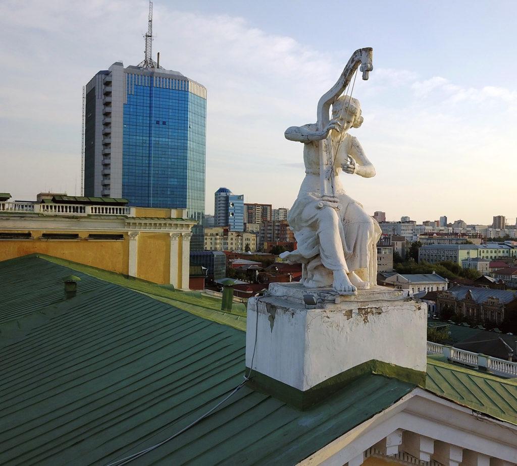 Aerocam74 Театр Оперы и Балета Челябинск